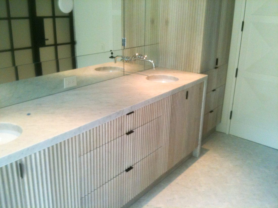 Rhoden Fluted Bathroom Vanity