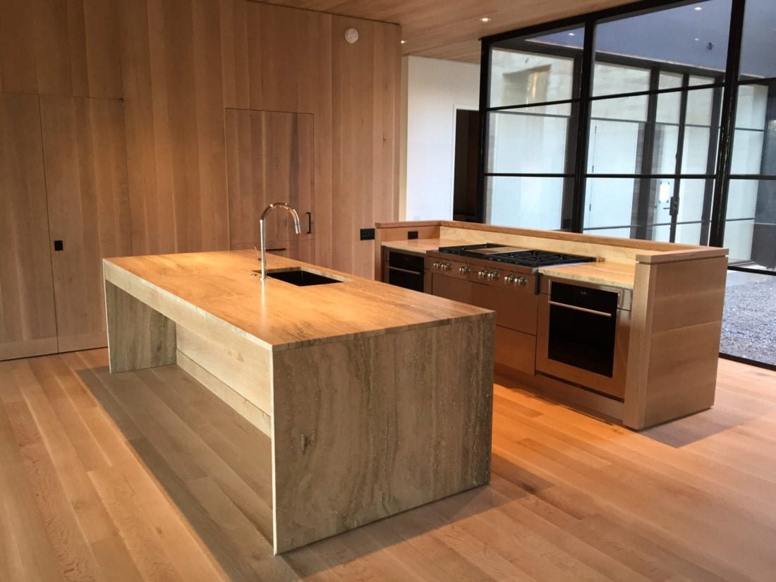Quarter Sawn White Oak Cabinets - MDM Design Studio