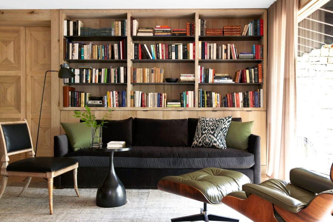 Classic Oak Living Room Bookcase