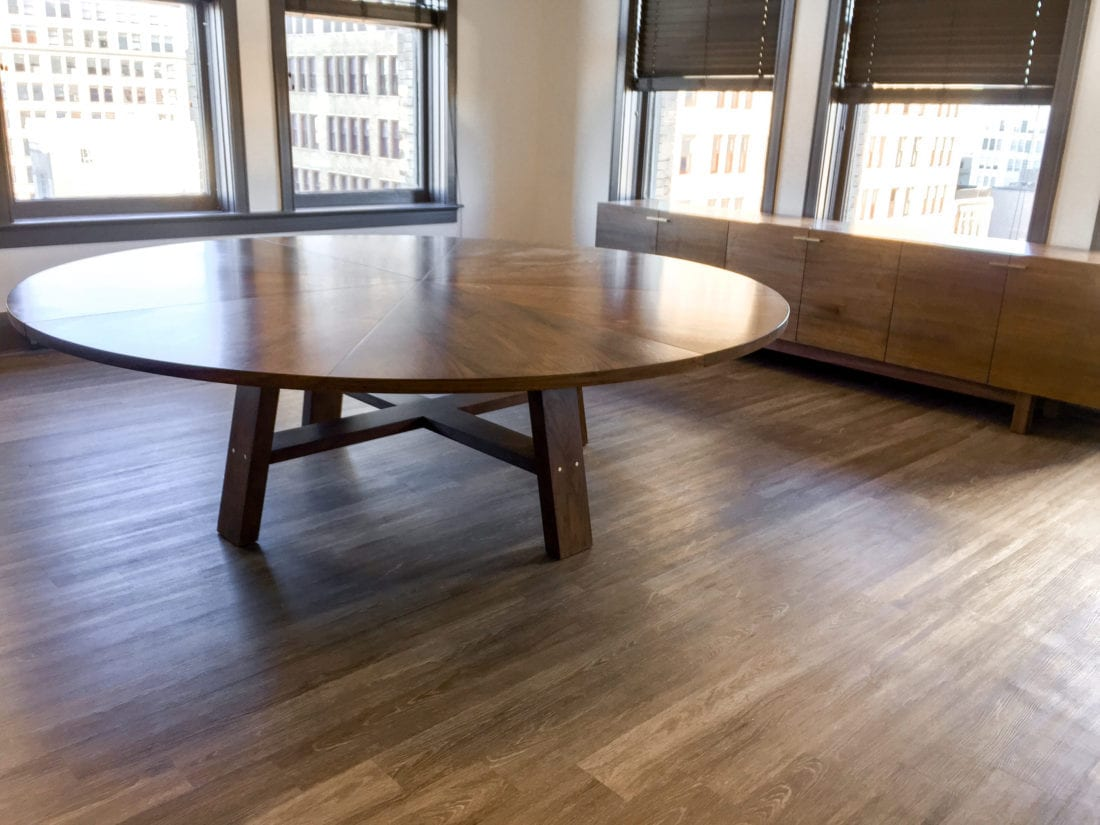 Circular Meeting Table for Office Space