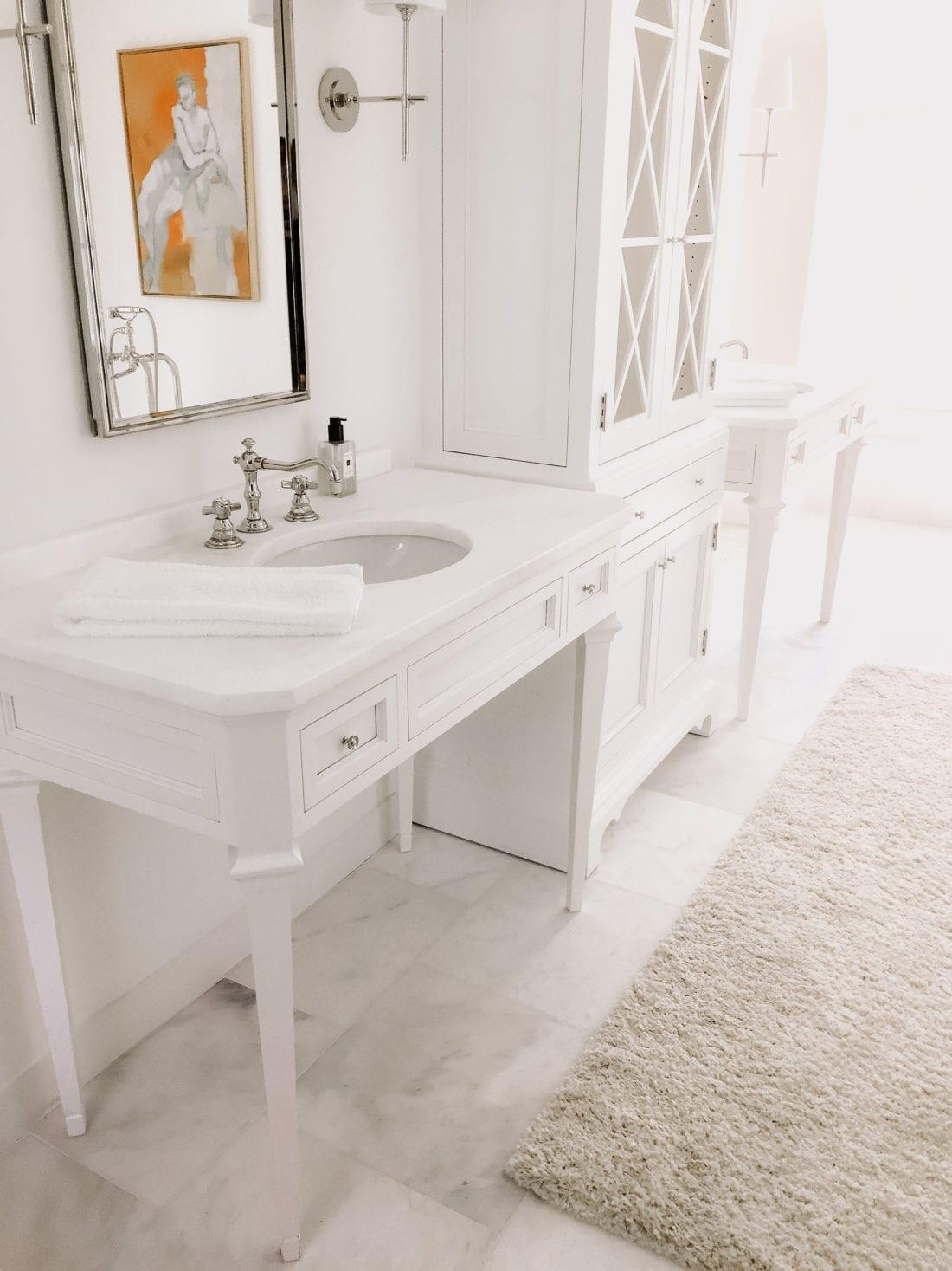 MDM Design Studio | All White Bathroom