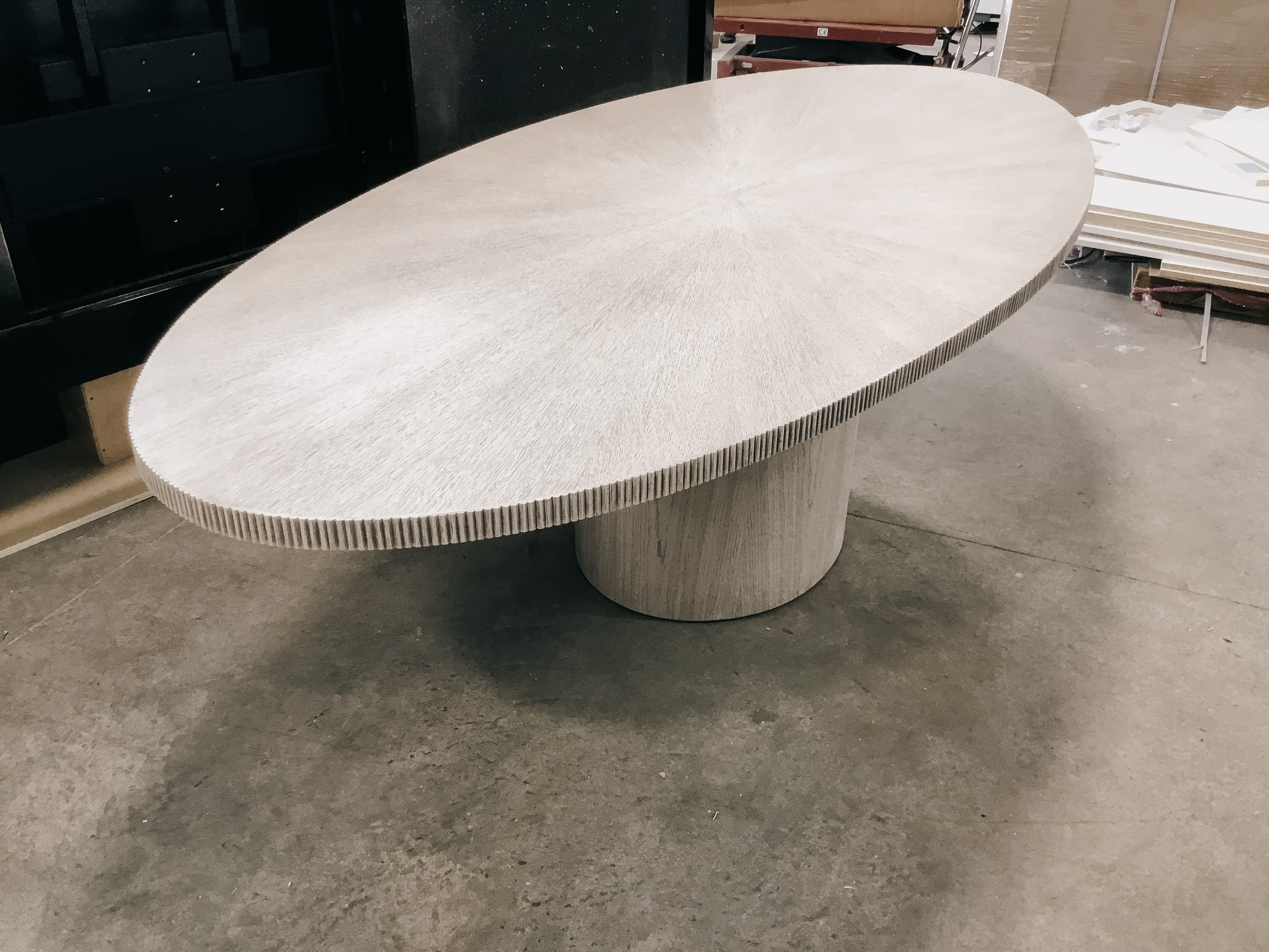Elliptical Radiate Table by MDM Design Studio / Facet Furniture