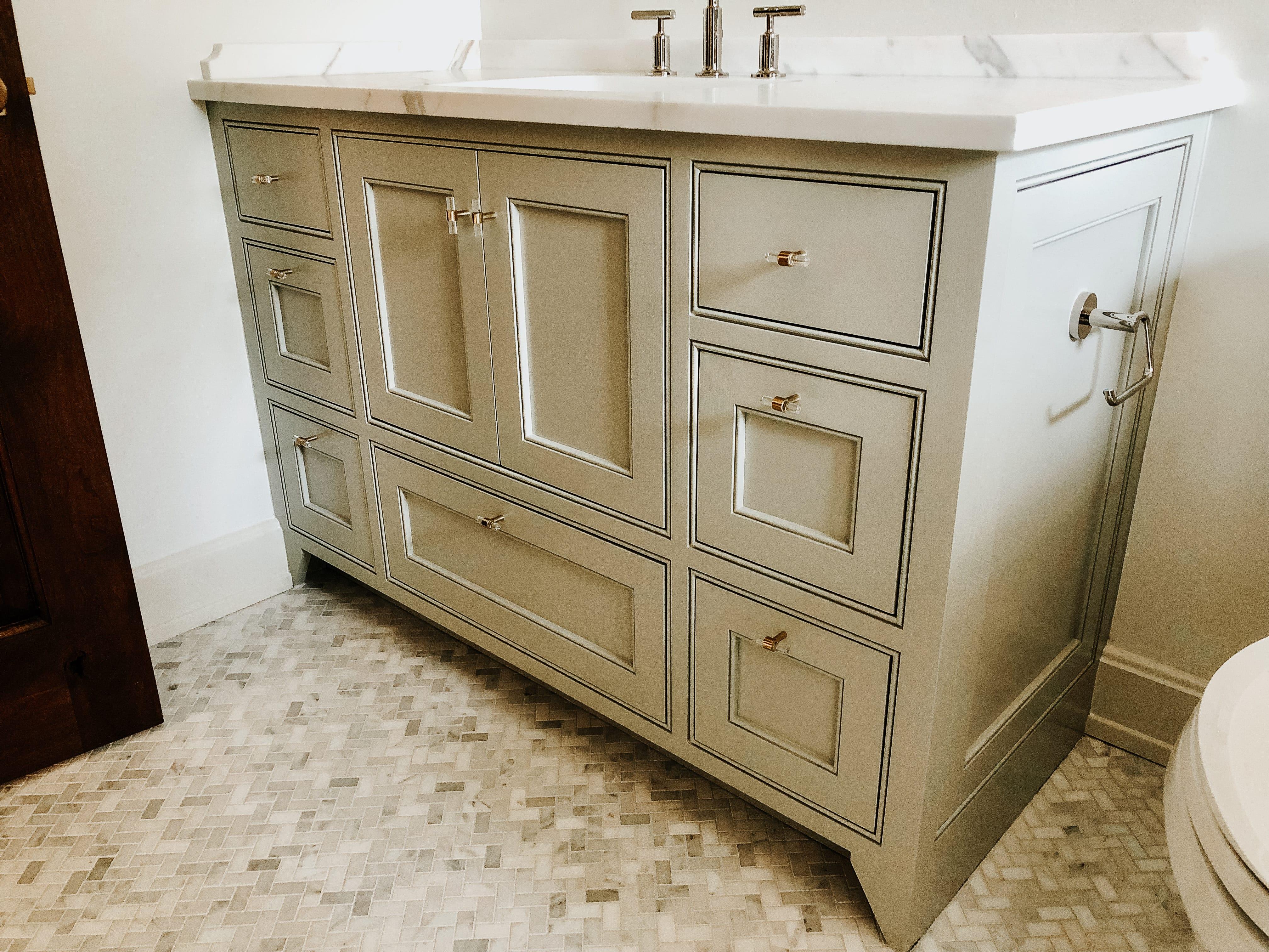 Classic Bathroom Vanity designed by MDM Design Studio