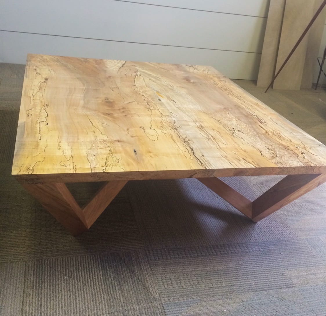 Top of Angular Coffee Table