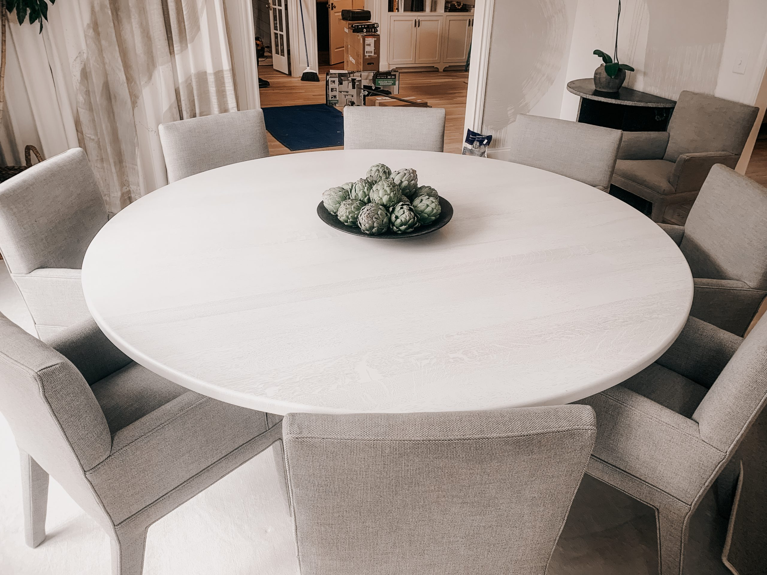 Ghost White Dining Table
